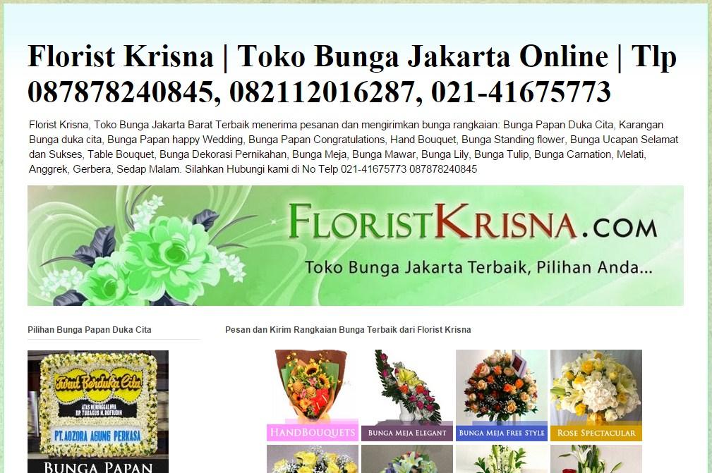 Florist Krisna