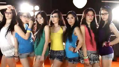 profil personil 7 icons berikut foto anggota girlsband 7 icons