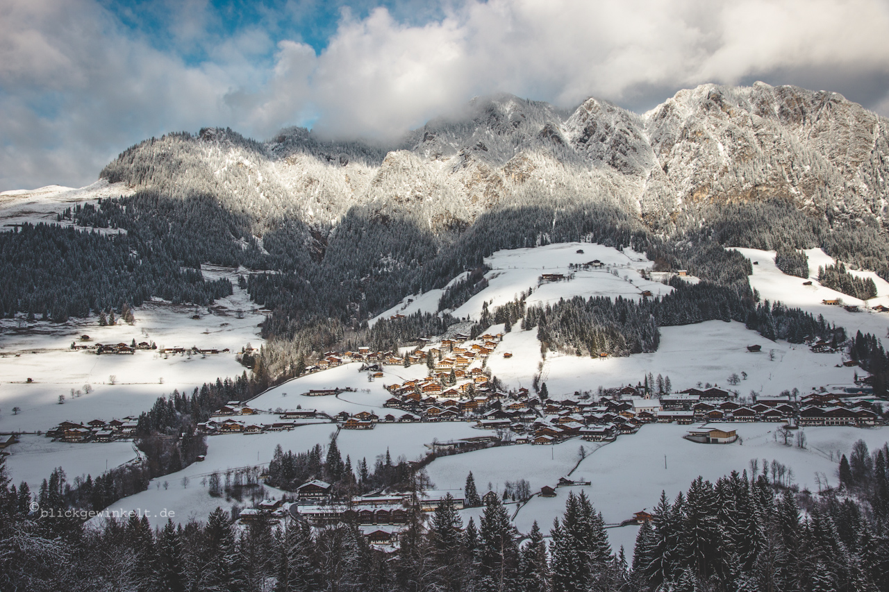 Alpbachtal im Winter