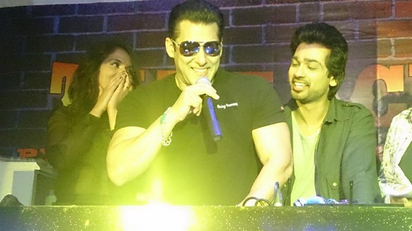 Salman Khan at the launch of 'In Da Club' song from Tamanchey