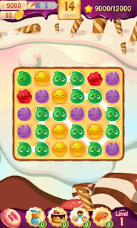 Screenshots of the Cake splash: Sweet bakery for Android tablet, phone.