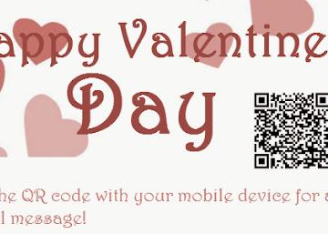 Create Your Valentine's Day QR Code - 2014