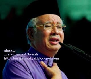 PRU-13: Datuk Seri Najib Razak sedih