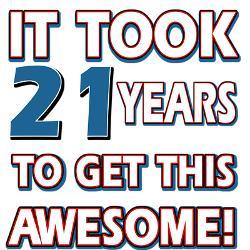 21 jaar verjaardag grappig