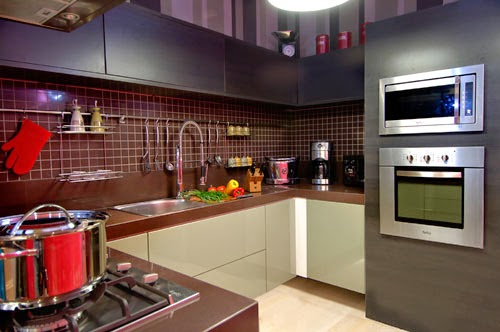 decoracao de cozinha luxuosa:Cozinhas Pequenas, Modernas e Planejadas – veja modelos e dicas