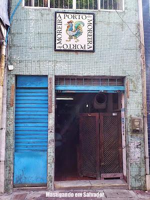 Porto do Moreira: Fachada