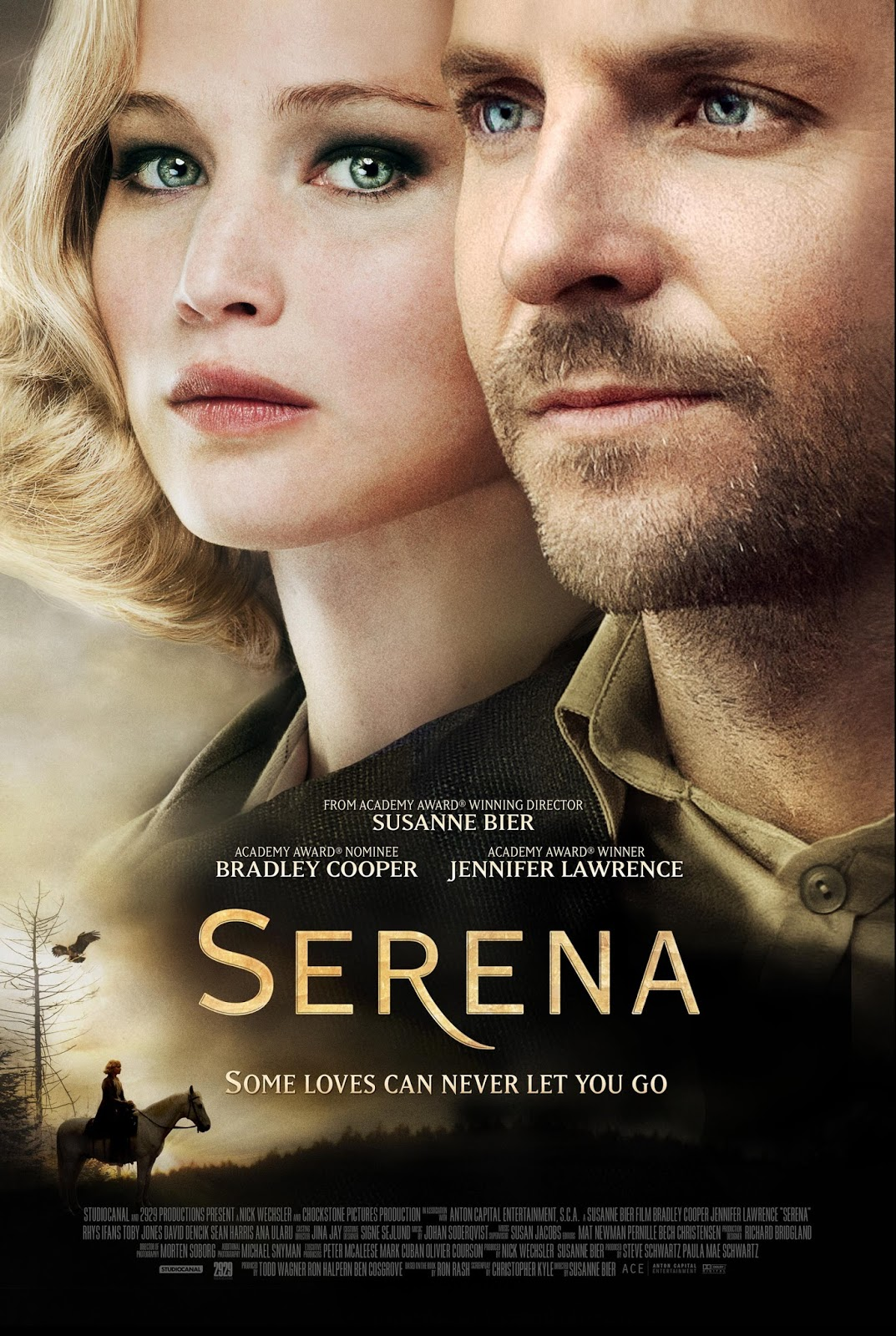 Serena Book to Movie, Bradley Cooper, Jennifer Lawrence, Susanne Bier, Ron Rash, Serena, Delicious Reads