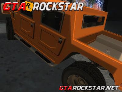 GTA SA - Carro do Exercito em HD