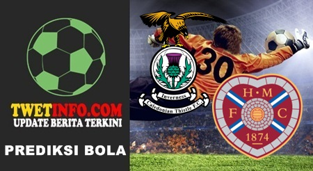 Prediksi Inverness CT vs Heart of Midlothian, Premiership 12-09-2015