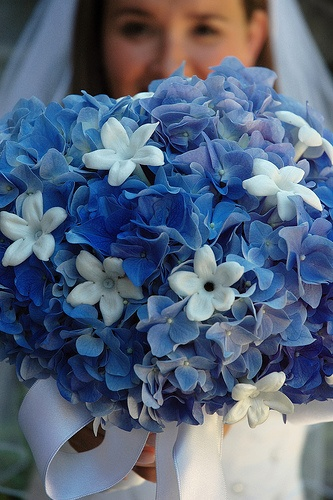 Something Blue Wedding Ideas - Bouquet