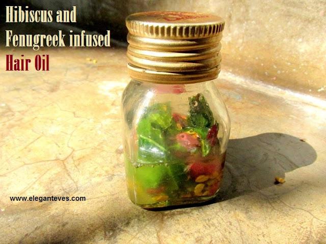 Hibiscus and Fenugreek Infused Hair Oil