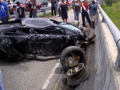 Авария Lamborghini Gallardo фото