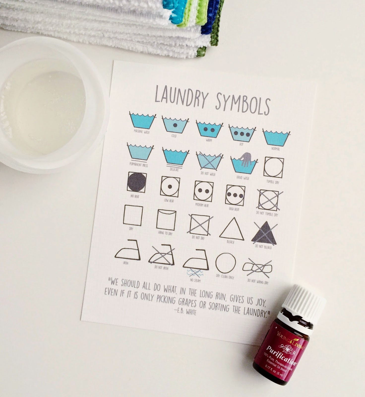 graphic regarding Laundry Symbols Printable named pen paint: Laundry Symbols [important oils and a Free of charge