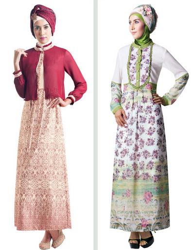 Busana Muslim Gamis dan Jilbab