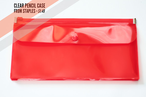 DIY from pencil case to chain purse