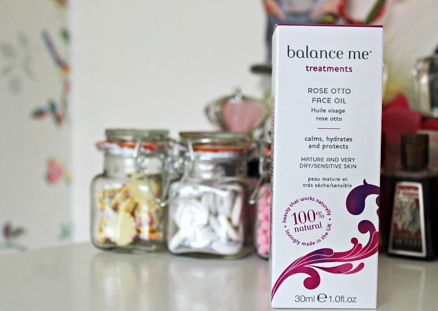 Balance Me Rose Otto Facial Oil