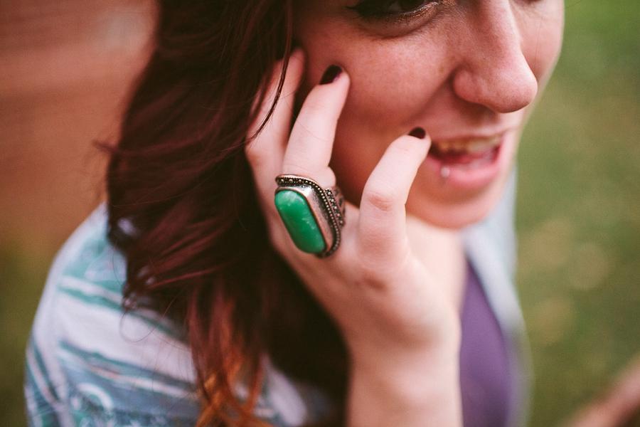 model, girl, woman, punk, light, photography, portrait, ring, jade
