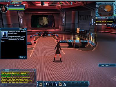 Star Trek Online - Flashing Object