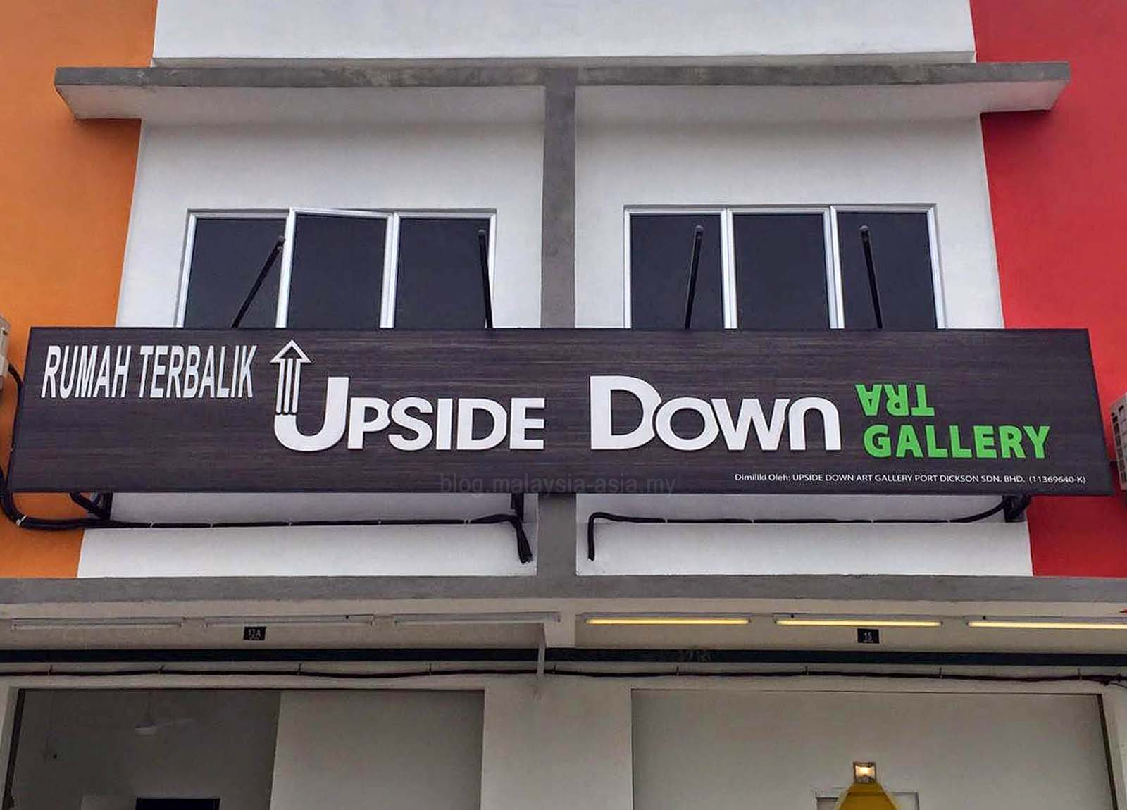 Upside Down Art Upside Down House Gallery In Pd Malaysia Asia