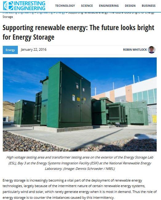Bright energy storage
