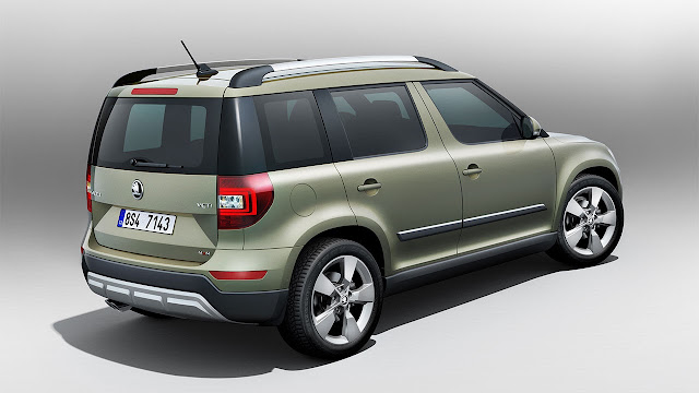 All new Škoda Yeti rear