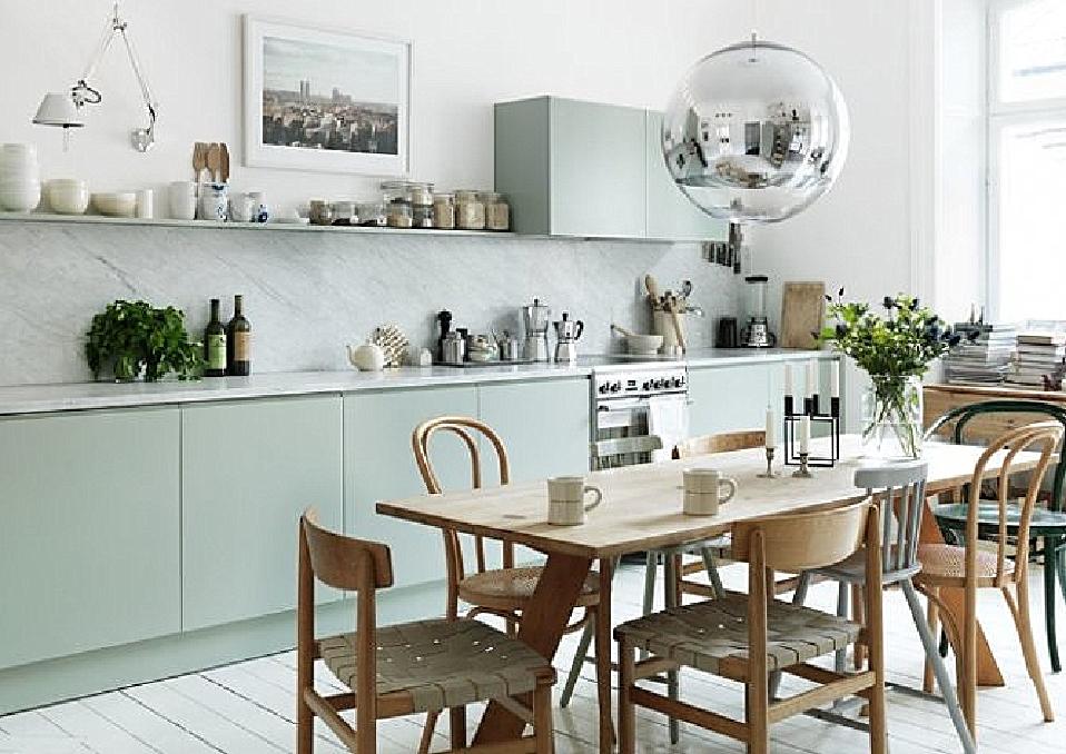 DOBRE PROJEKTY  BLOG ZIELONA KUCHNIA -> Kuchnia Ikea Zielona