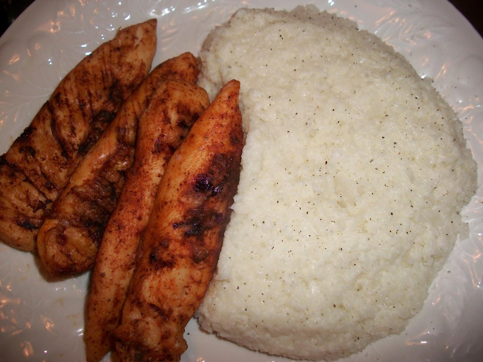 Memphis Style Dry Rub Bbq And Cauliflower Mashed Potatoes Sandy 39 S Kitchen