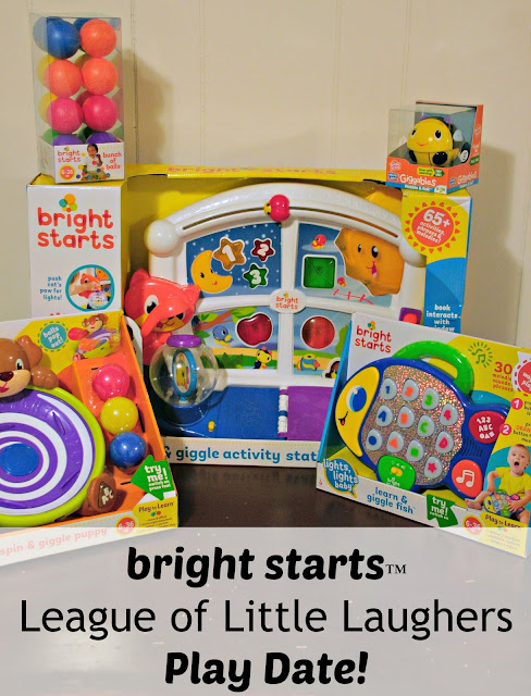 Bright Starts Play Date, League of Laughers Play Date, LOLL Play Date, #BrightStarts, #BabyLOLL