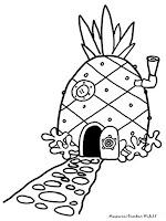 Gambar Rumah Nanas Spongebob Squarepants