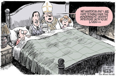 Santorum cartoon