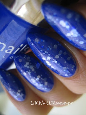 Nails Inc Baker Street with Lynnderella Forget You Not
