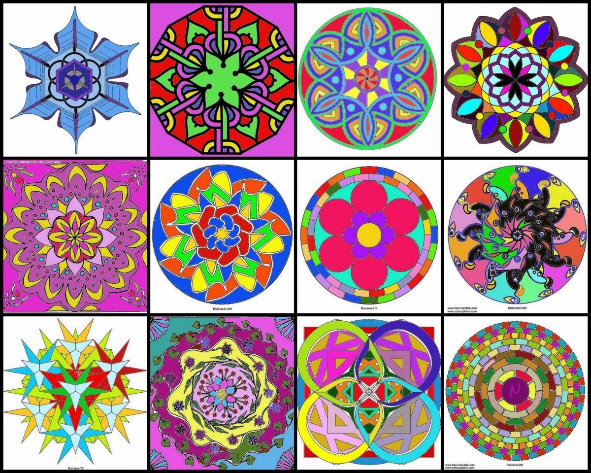 Sentires el mandala - Colores para mandalas ...