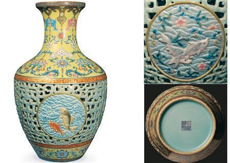 Retro Vintage Antique Blog 53 Million Qianlong Vase