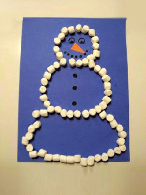 Trc read to kids winter wonderland crafts for Winter holiday crafts for kids