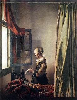 Johanes Vermer - Page 3 Brieflezend+meisje+bij+het+venster