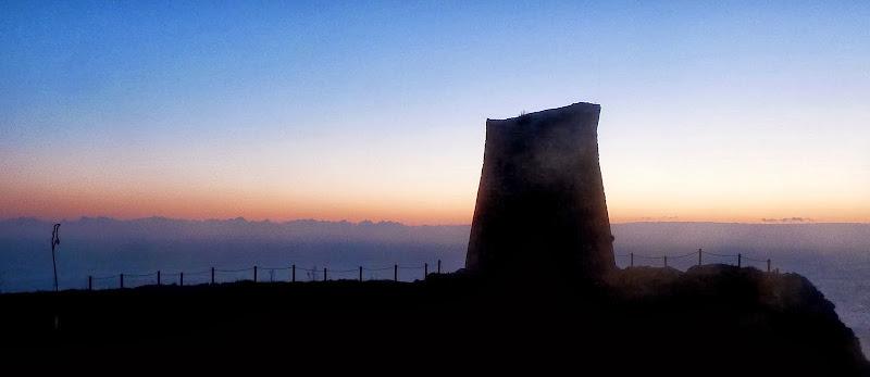 Neujahr Apulien - Sonnenaufgang