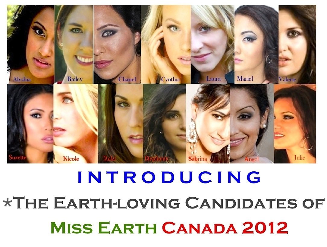Miss Earth Canada 2012 SNEAK PEEK