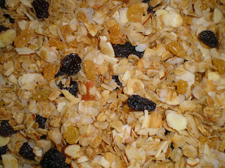 How to make granola:  Joybee granola