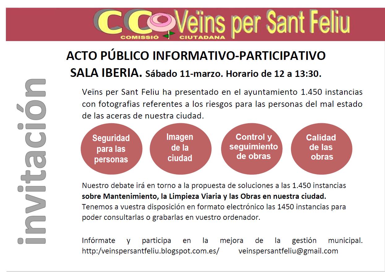 ACTO PUBLICO INFORMATIVO-PARTICIPATIVO. MAR-17