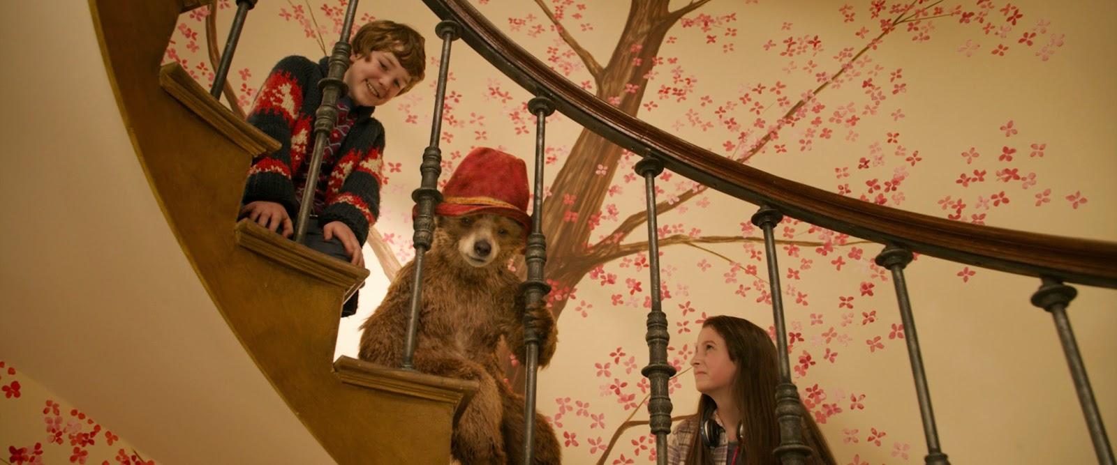 Paddington com as crianças da família Brown b06d401f62