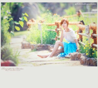 7 Choi Byeol Yee-Legs Show Off-very cute asian girl-girlcute4u.blogspot.com