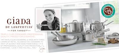 Cooking With Giada De Laurentiis for Target - Jersey Girl Cooks