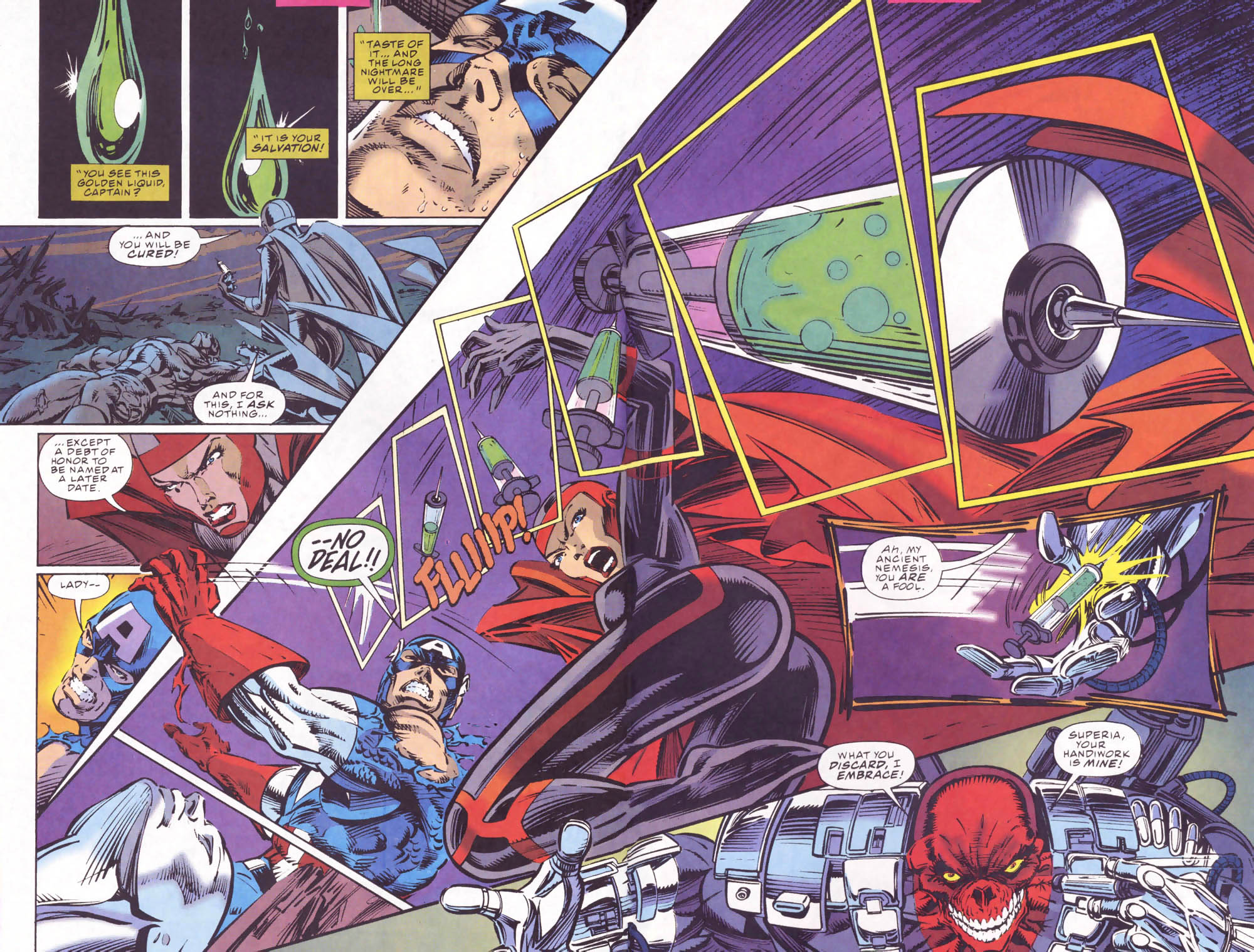 Captain America (1968) Issue #441b #395 - English 14