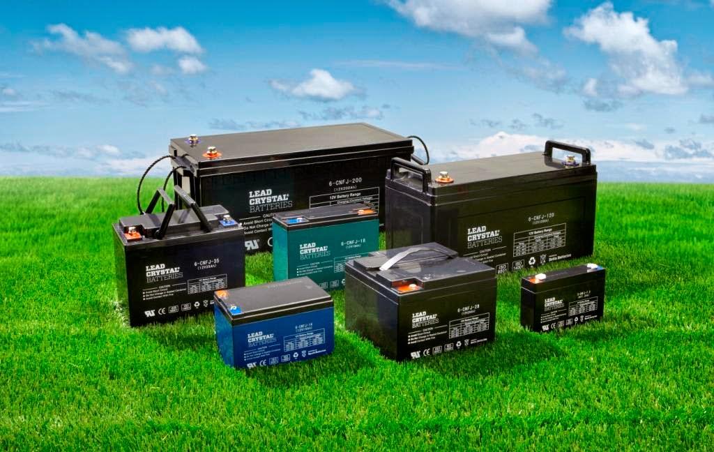 Lead Crystal Betta Batteries
