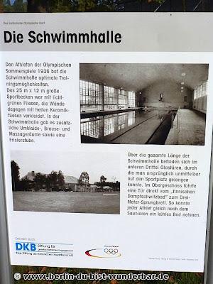 olympia, dorf, sportlerdorf, elstal, berlin, sport, 1936, olympischen Sommerspiele, schwimmhalle