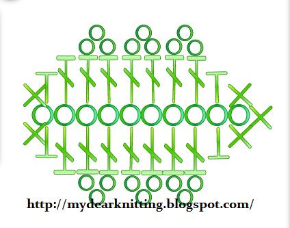 Схема вязания простого цветка крючком для начинающих