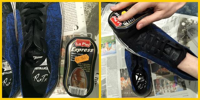 limpiar zapatillas de piel