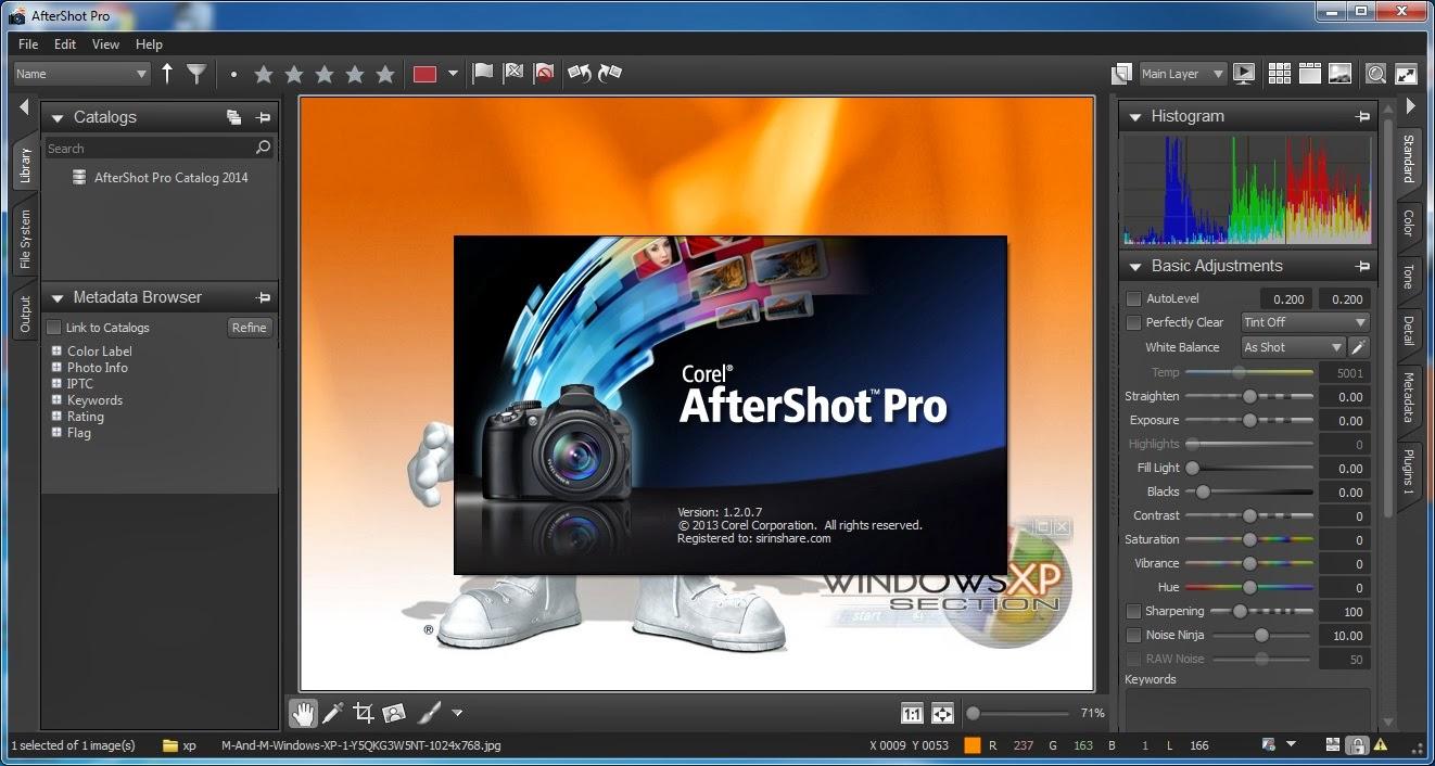 Corel AfterShot Pro 3 Serial Number &