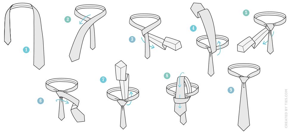 Tie Half Windsor Knot Diagram Trusted Wiring Diagrams