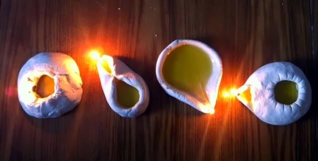 Salt Dough Lamps : Getting Started in Spirit Play: Salt Dough Oil Lamps